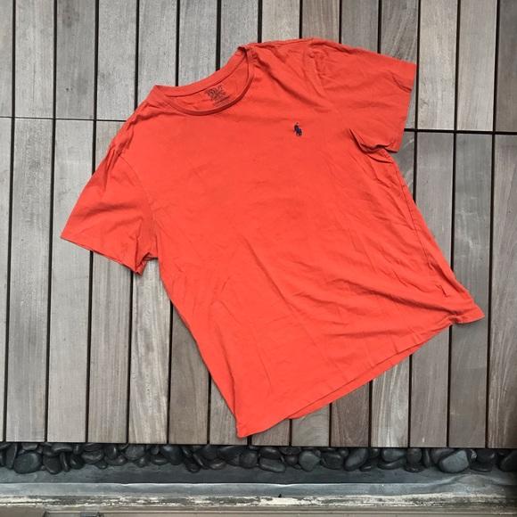 POLO By Ralph Lauren | Orange Shirt Sleeve Shirt
